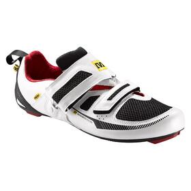 Mavic Tri Race Shoe Men white/black/quick